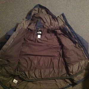 The North Face Hyvent Two Tone Hooded Jacket XXL